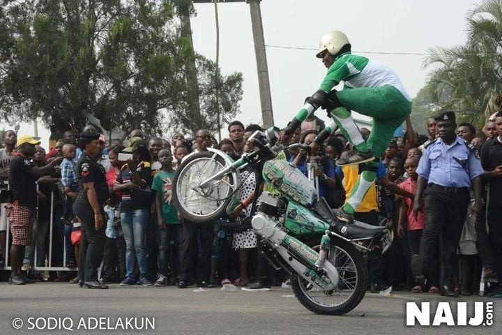 Excitement as 250 bikers participate in Calabar carnival show