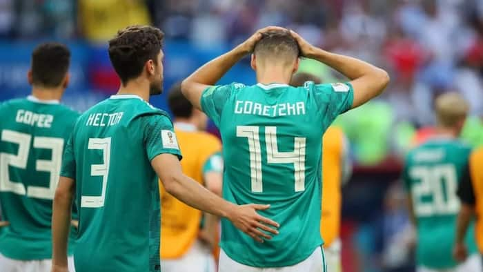 Germany players head home after disastrous World Cup campaign (photos)