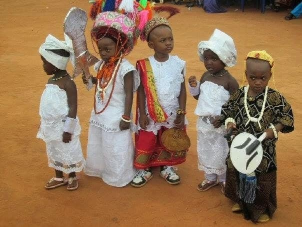 Types of Igbo dressing for kids