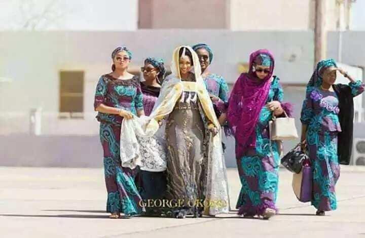 Kunnenka nawa? Karanta yadda aka kwashi Amarya Fatima Ganduje zuwa akin mijinta (Hotuna