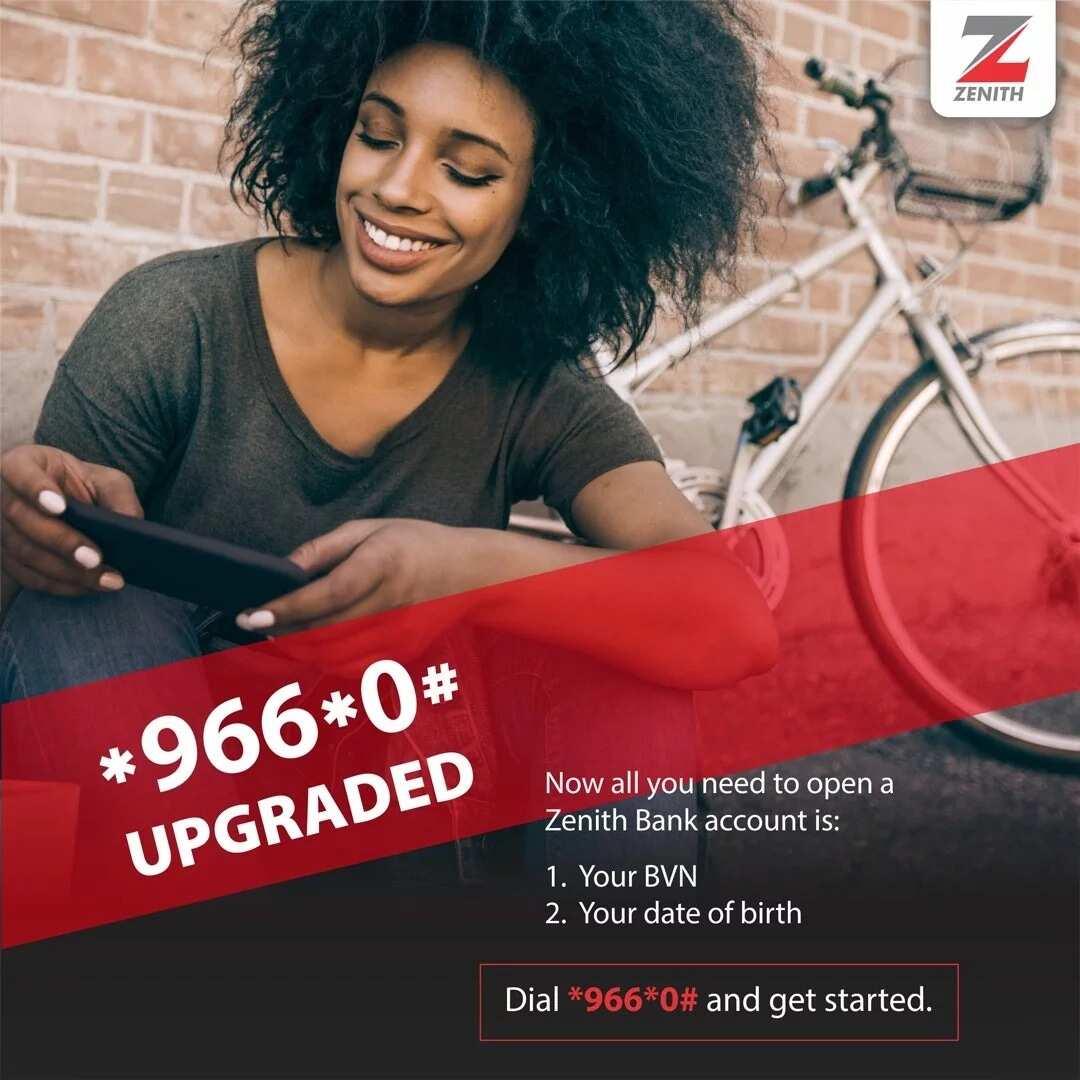 How to check zenith bank account balance on phon