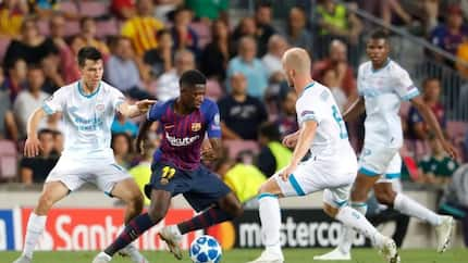 Barcelona superstar Dembele in fresh trouble after arriving club training late