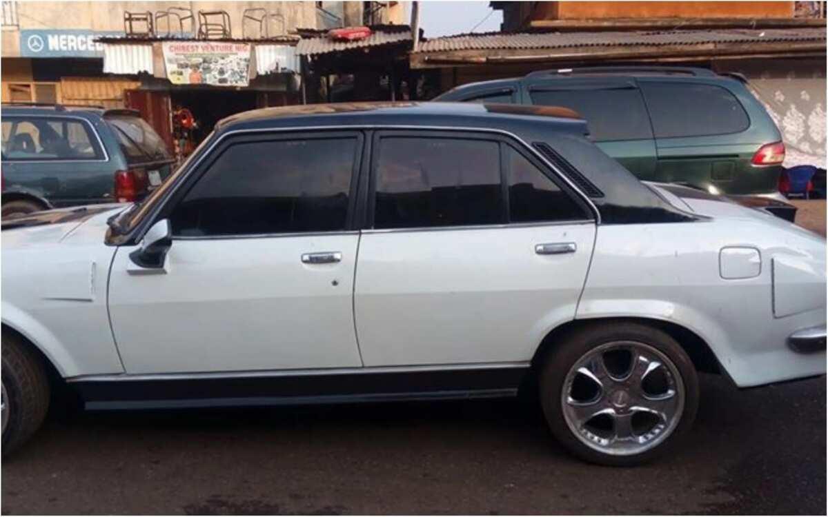 Man Makes Incredible Transformation Of Old And Abandoned Peugeot 504 Car In Enugu Legit Ng