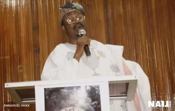 Former senator Durojaiye calls for the unity of Nigeria.