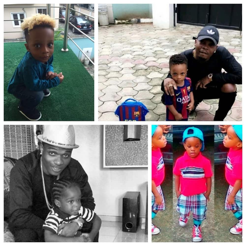 Wizkid son and Olamide son: Who is cuter? ▷ Legit ng