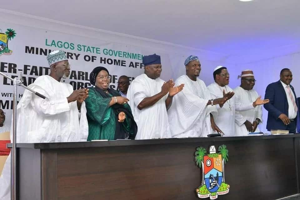 Ambode held the Inter-faith parley with religious leaders