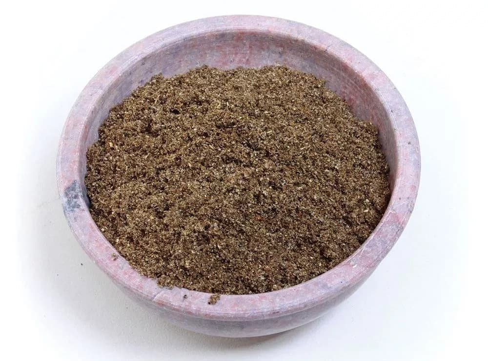 Bowl with Chebe powder