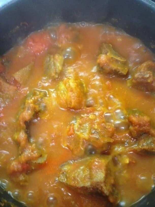 Amala and Ewedu soup recipe 2
