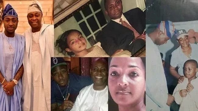 Davido's father and mother