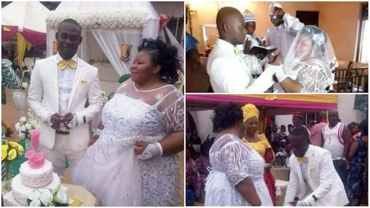 Beautiful Nigerian couple Ifeoma and Chidera, who recently went viral with their pre-wedding photos, finally wed