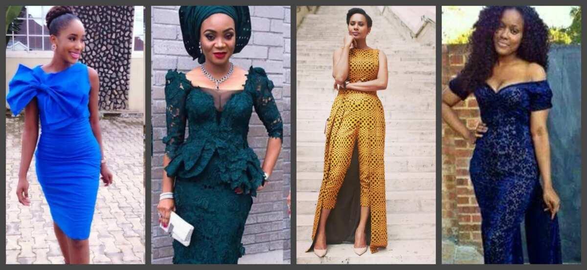 Latest Nigerian English Gowns