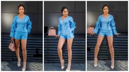 Reality star Nina flaunts hot legs in stunning new photos
