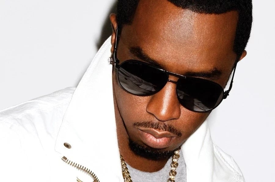 Puff Daddy, the American rapper Sean Diddy Combs