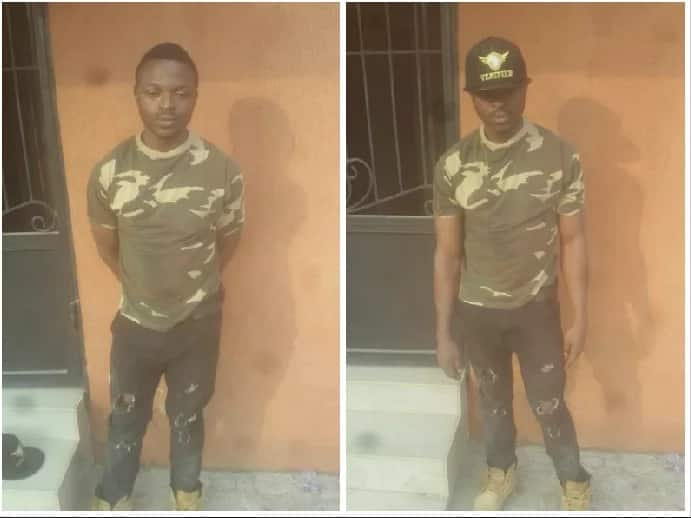 Soldiers arrest army impostor in Lagos (photos)