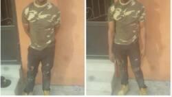 Troops arrest army impostor terrorising Lagosians (photos)