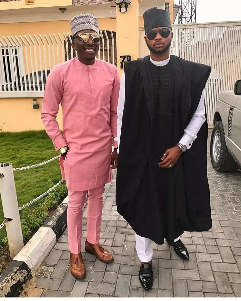 Latest Nigerian men's fashion 2018 Agbada wear