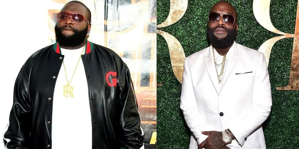 Rick Ross before and after
