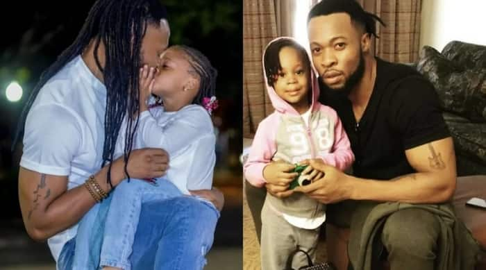 Flavour celebrates his daughter's 3rd birthday with a kiss ▷ Legit ng