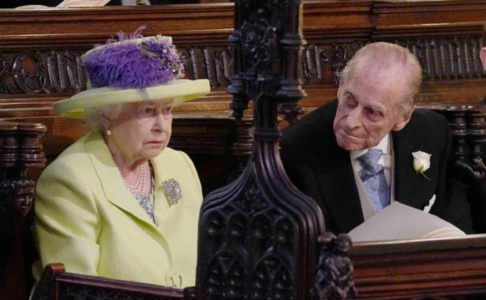 Queen Elizabeth II and Philip Duke of Edinburgh