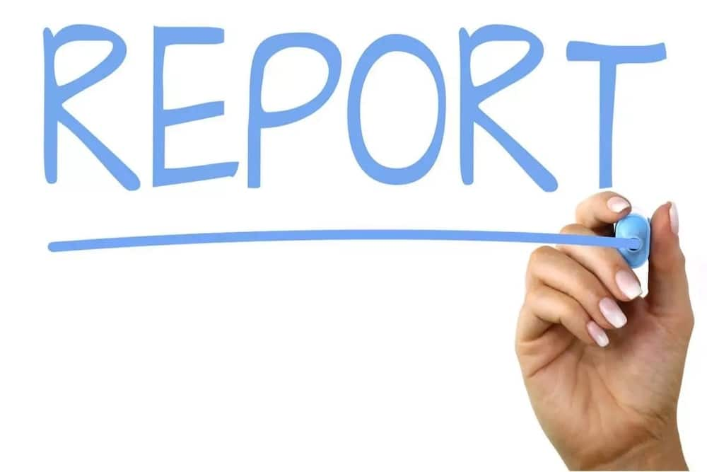 What are the different kinds of report writing