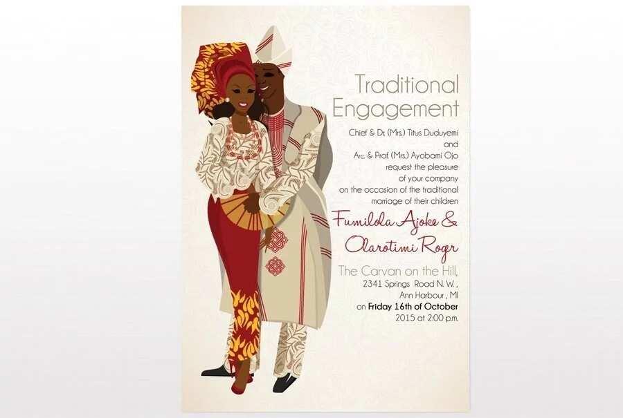 Nigerian Wedding Invitation Cards Diy Ideas Legit Ng
