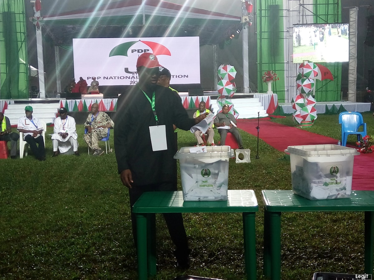 Live updates of PDP national convention holding in Port Harcourt