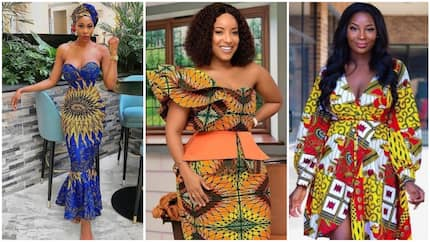 9 sweet latest ankara styles for only respectable women in Nigeria (photos)