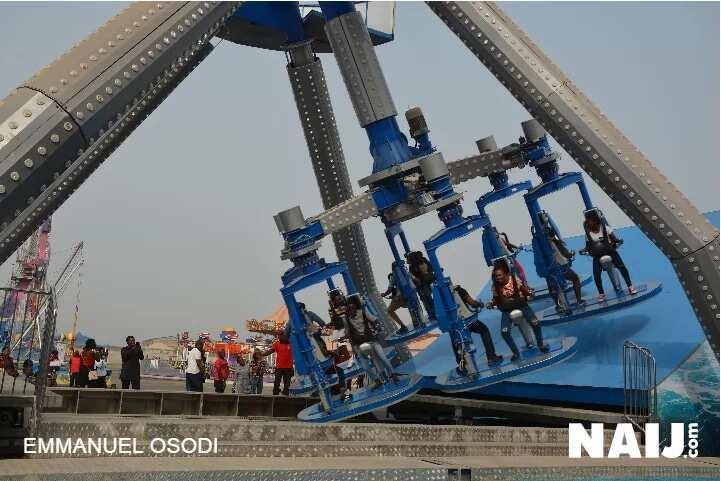 Fun Xmas Celebration From Hi-Impact Amusement Park