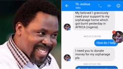 Nigerian man allegedly tries to scam man, claims to be TB Joshua