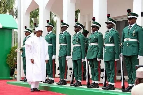 Nigerian military officers