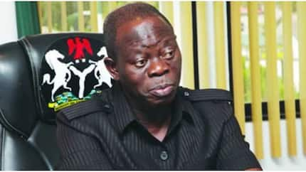 Why we can't arrest, try Oshiomhole for fraud - EFCC tells court