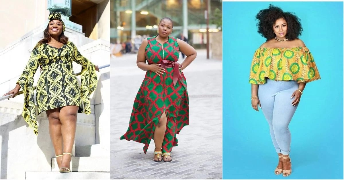 19e1ae41a01 Latest Ankara styles for plus size ladies in 2018 ▷ Legit.ng