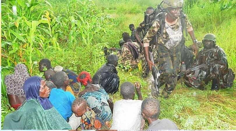Mutane 106 sun kubuta daga hannun 'yan Boko Haram