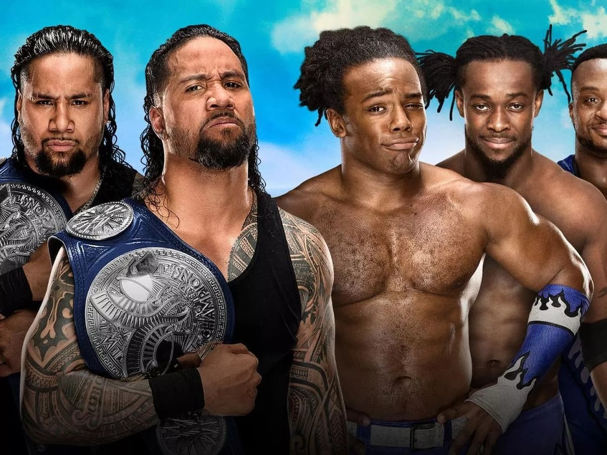 The Usos vs. The New Day