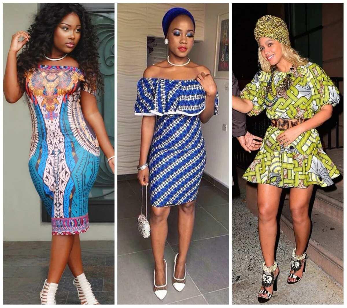 Ankara Short Dresses For Bright Ladies Legitng