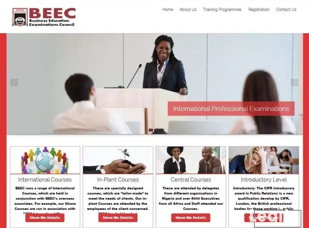 Business Education Exams Council