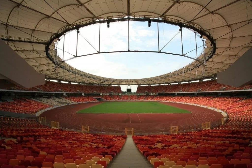 The best stadium in Nigeria