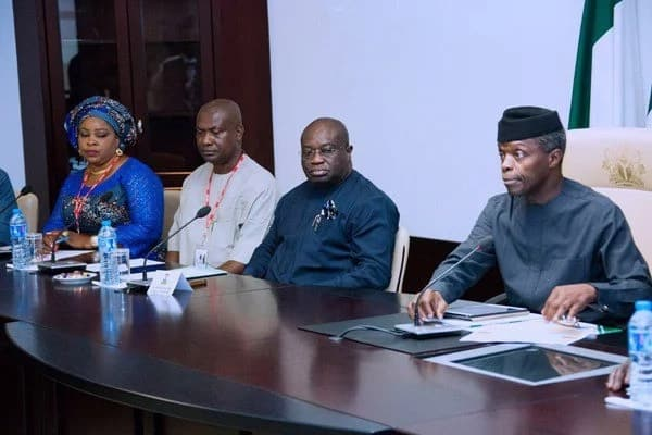 BREAKING: Osinbajo visits Abia after meeting with Governor El-Rufai in Kaduna