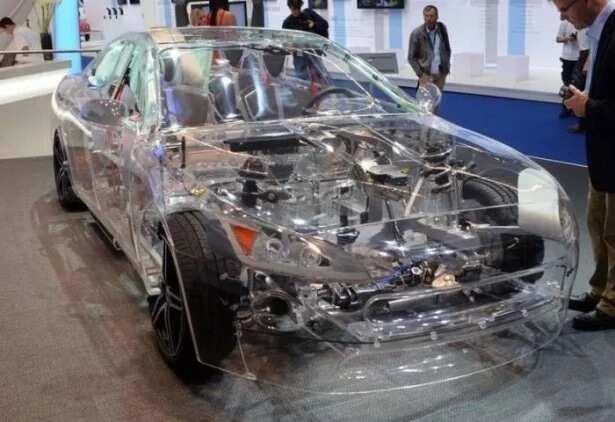 German transparent car