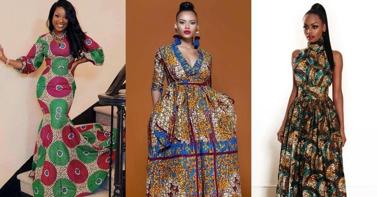 32cb75182bea6 Trendy ankara dresses to wear in 2018 ▷ Legit.ng