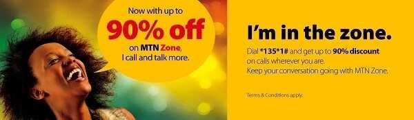 MTN Zone tariff plan Nigeria