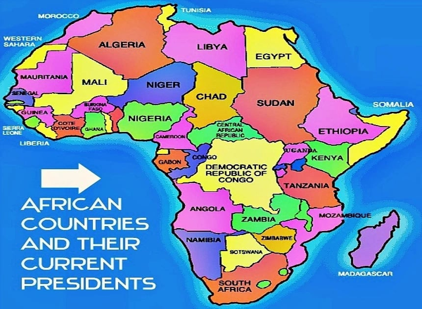 List of African Countries and Their Current Presidents ...