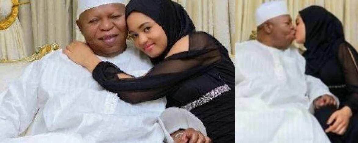 Abubakar Audu last wife biography