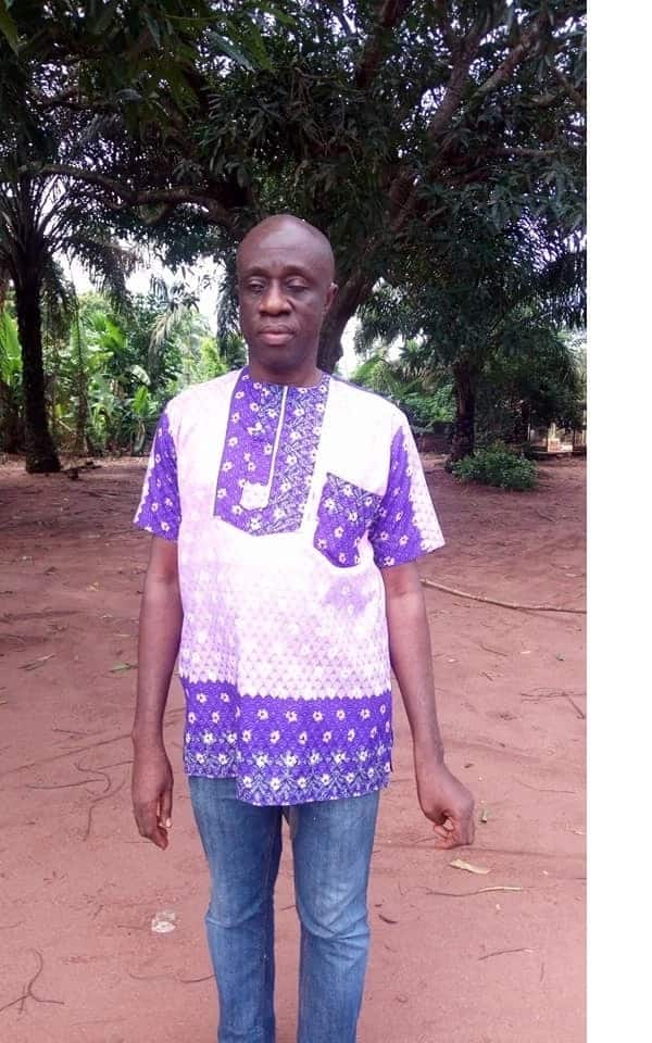 Meet Nigerian blind teacher who is renowned author of 15 publications and textbook