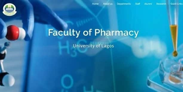 University of Lagos Faculty of Pharmacy