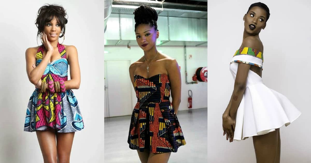 Dresses in this style look cute and coquettish