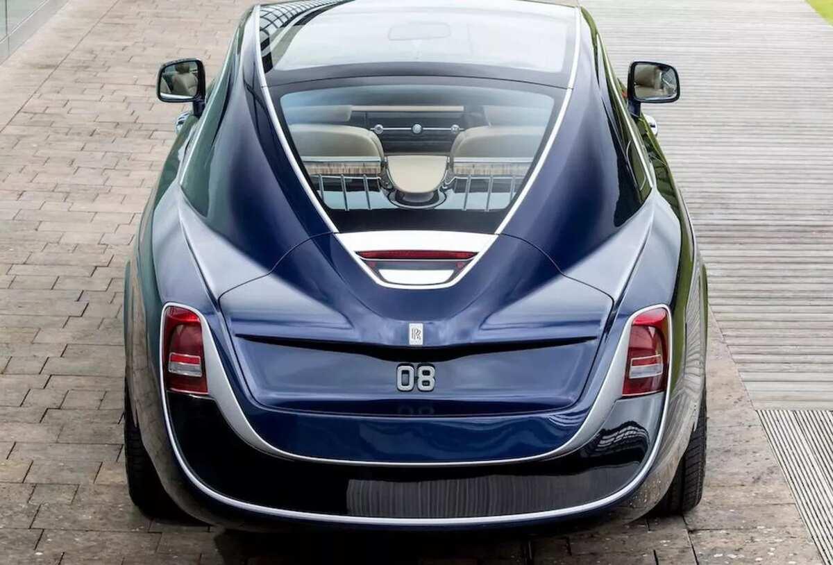 Rolls-Royce Sweptail back