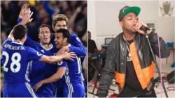 """Na'ura ta kama 'yan kwallon Chelsea na tikar rawa da wakar Davido ta """"IF"""" (Kalli Bidiyo)"""
