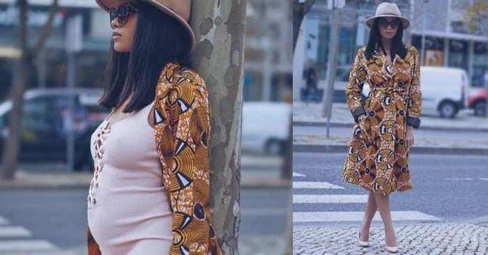 Latest Ankara styles for pregnant ladies that impress