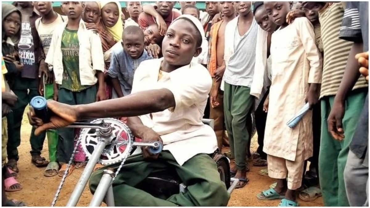physically challenged orphan
